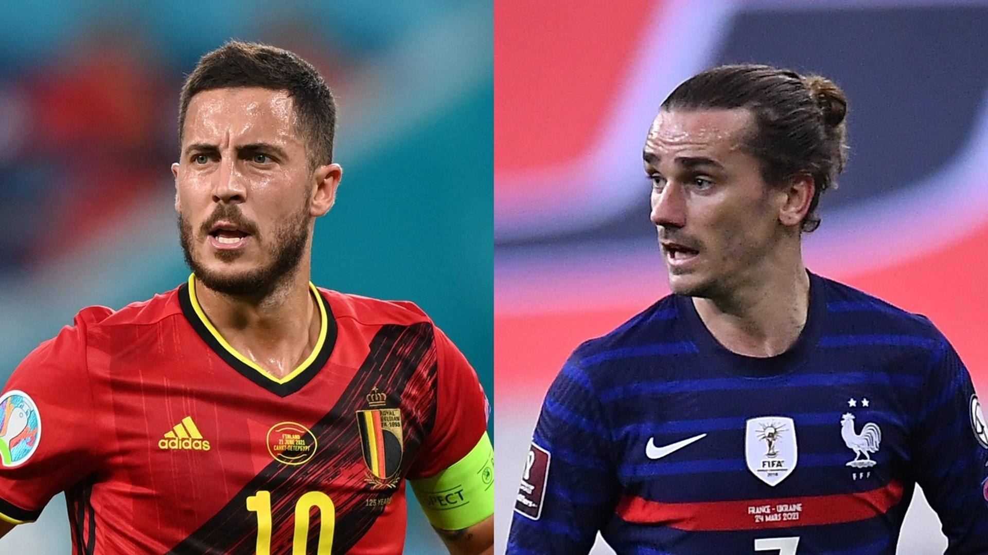 قنوات مجانية تنقل مباراة بلجيكا وفرنسا في نصف نهائي دوري الأمم الأوروبية