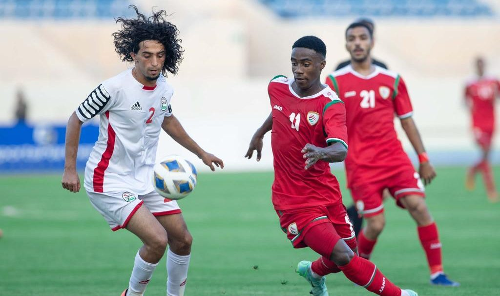 موعد مباراة اليمن و الاردن و شاهد بالفيديو ملخص واهداف اليمن و عمان - وترتيب المجموعة