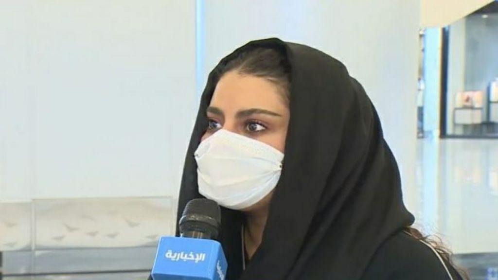 شاهد بالفيديو رد فتاة سعودية حول تعدد الزوجات: أهم شيء فلوسه حتى لو شايب !