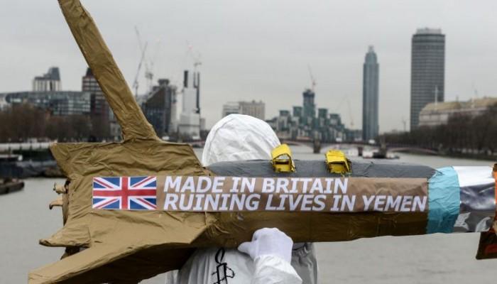بعد قرار الرئيس الامريكي.. ضغوط على بريطانيا لوقف دعم الحرب السعودية في اليمن