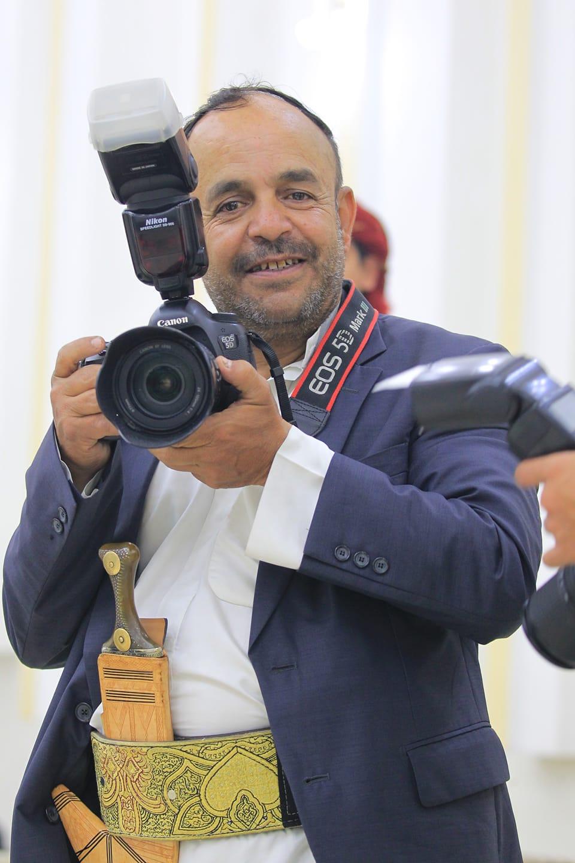 تعازينا للمصور الصحفي المبدع فؤاد الحرازي في وفاة نجله ( الحسن )