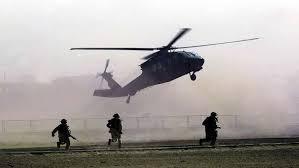 مقتل سبعة جنود في قصف لمروحية امريكية بمحافظة الانبار غرب العراق
